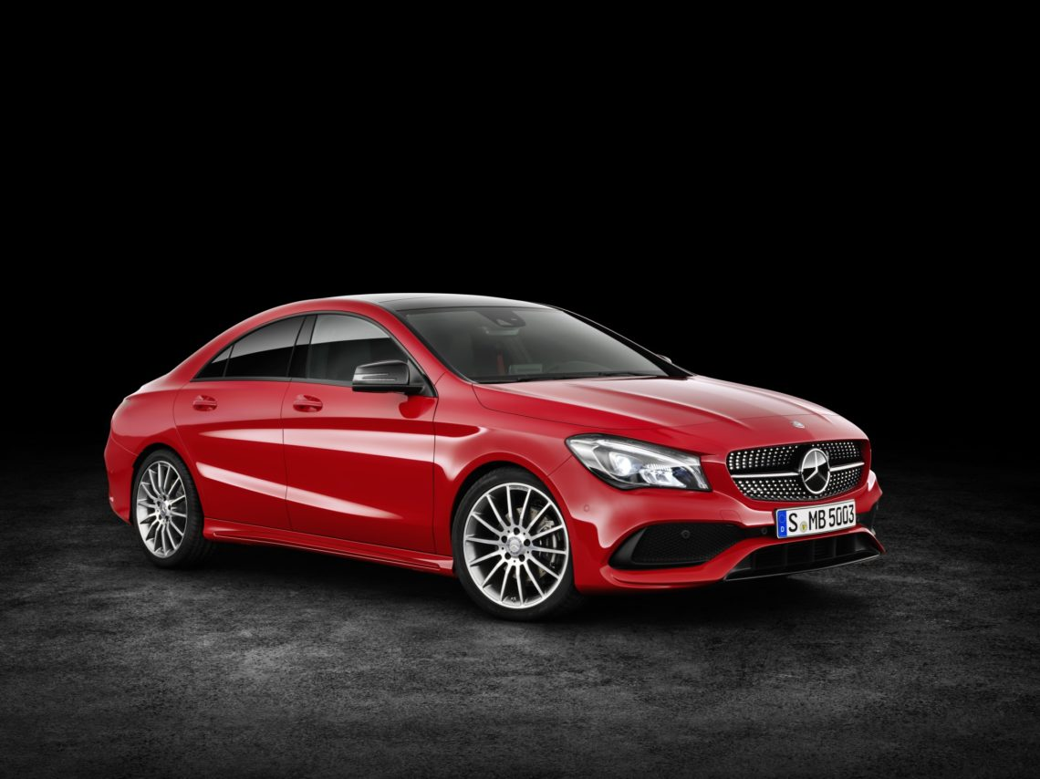facelift f r mercedes cla 4matic coup und shooting brake 2016. Black Bedroom Furniture Sets. Home Design Ideas