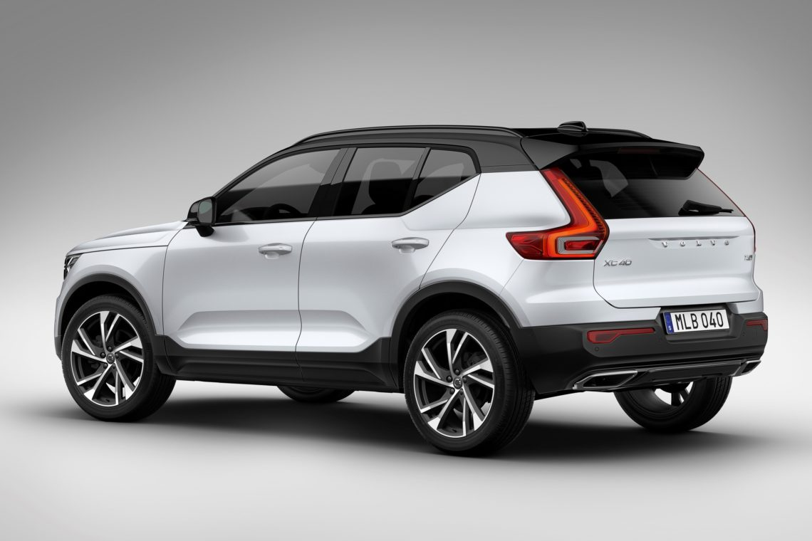 volvo stellt den neuen volvo xc40 2018 vor puristisch. Black Bedroom Furniture Sets. Home Design Ideas
