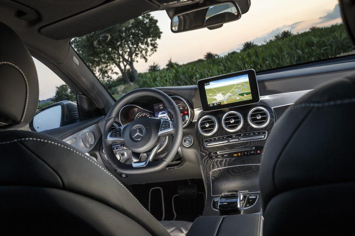 Mercedes Classe C Coupe Toit Panoramique
