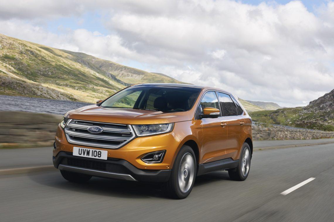 Ford Zeigt Euro Version Des Edge Auf Der Iaa Hier Der Ford Edge