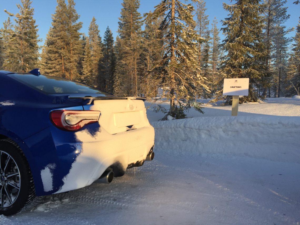 Subaru on the rocks: Subaru Snow Drive 2017, Rovaniemi