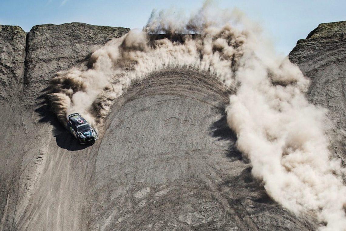 Ford Fiesta Rx43 >> Mit Terrakhana zügelt Ken Block sein Gymkhana in die Wüste von Utah.