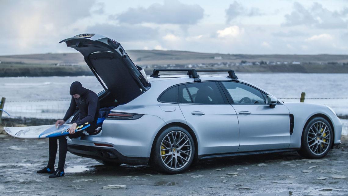 Porsche Panamera Turbo Sport Turismo Feat Nordseesurfer Mark Boyd