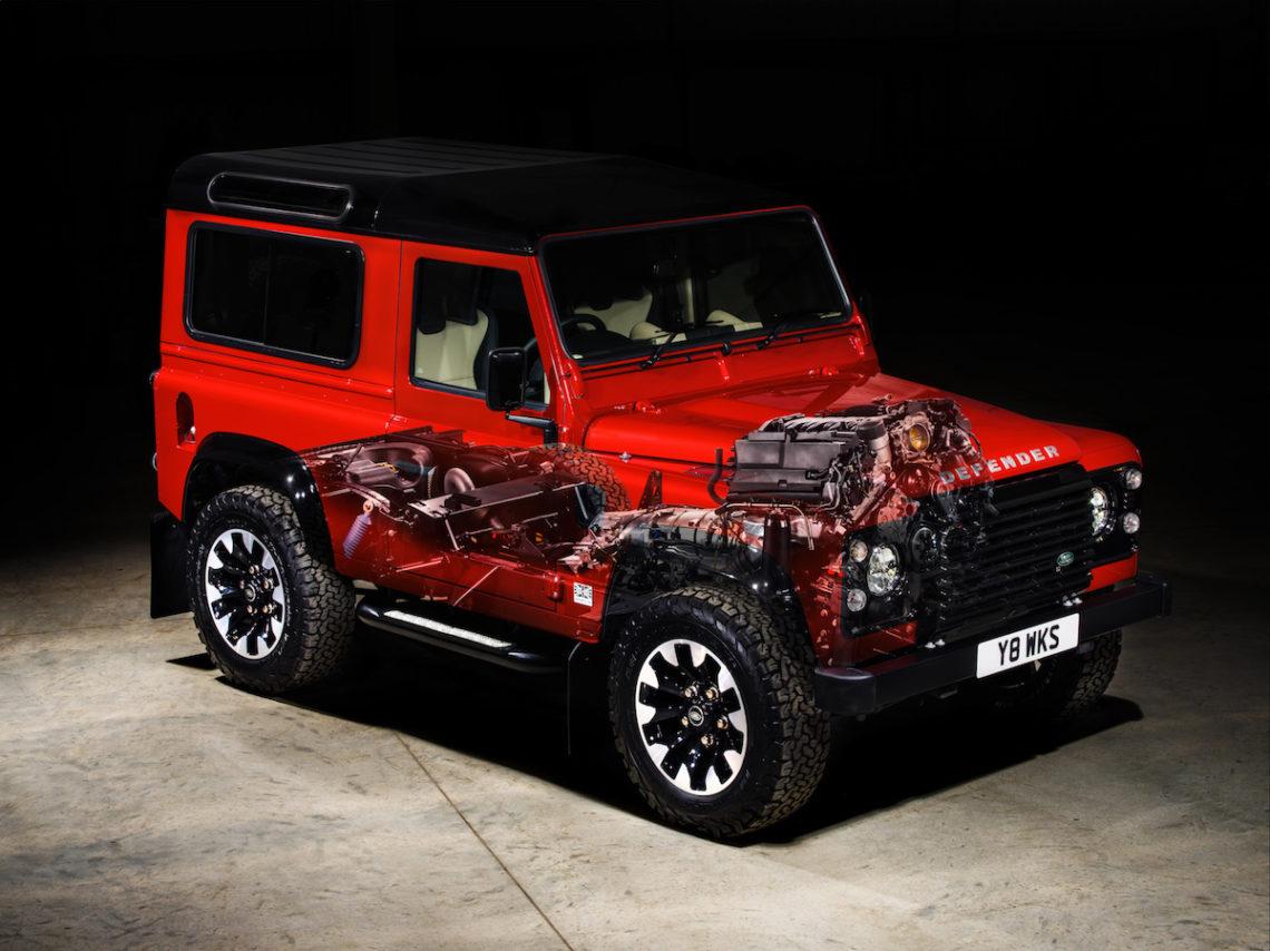 Damit Hat Wohl Keiner Gerechnet Land Rover Defender Works V8 70th