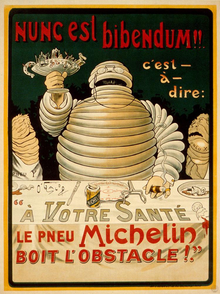 Happy Birthday Michelin Mann Bibendum Er Feiert Seinen 120